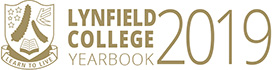 2019 Lynfield college yearbook Logo