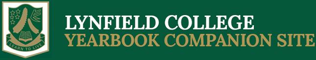 Lynfield College Yearbooks Logo